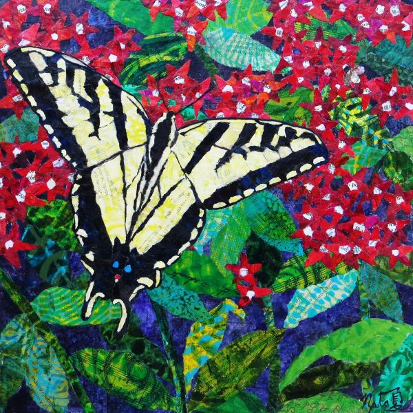 Catch a Tiger by the Swallowtail by Natasha Papousek