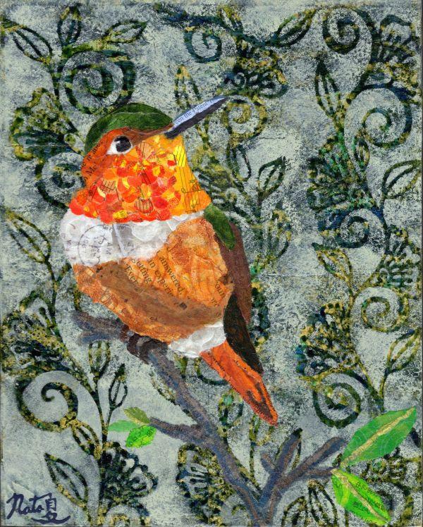 Backyard Birds: Mr. Allen's Hummingbird by Natasha Papousek