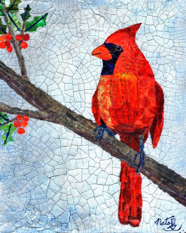 Winter Cardinal by Natasha Papousek