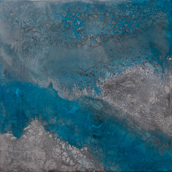 Turquoise Rising by Julie Brookman