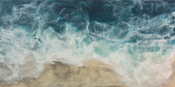 Brookman | | 48 X 96 Encaustic, oil on panel 8160001 by Julie Brookman