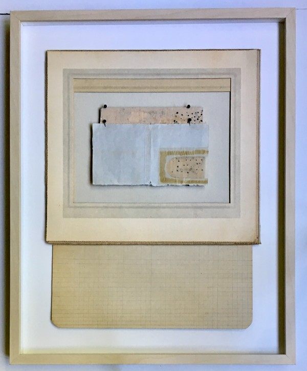 Frames forms, painting on board and  envelope window by MaryAnn Puls