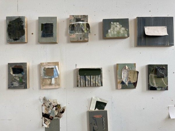 Various Pieces in Progress by MaryAnn Puls