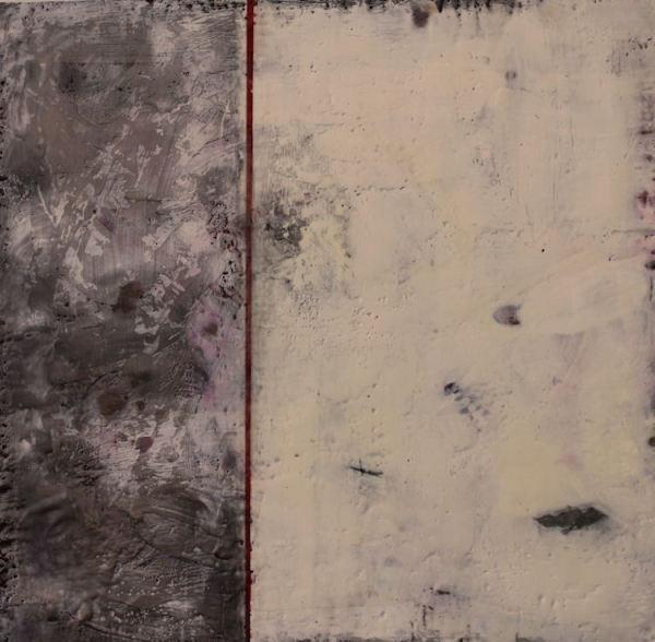 Annotation, Graphite-Crimson by Cheryl D. McClure
