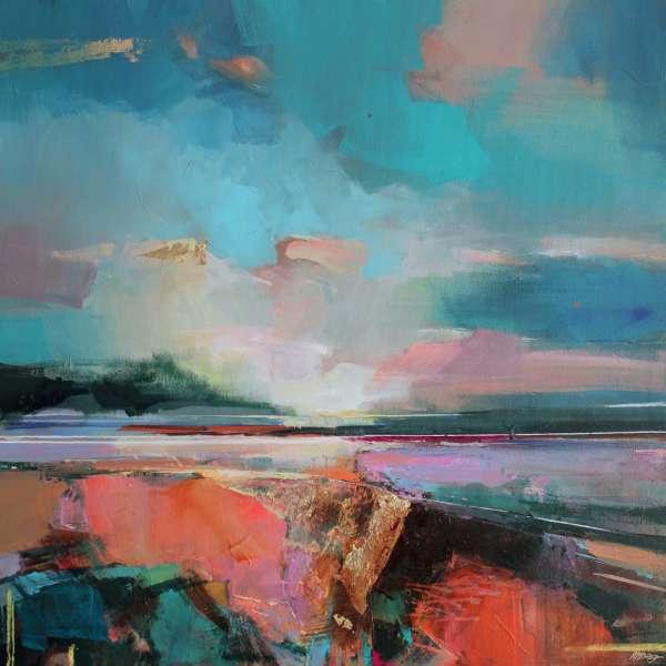 Along the Estuary 3 by Magdalena Morey