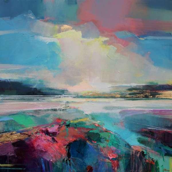 Along the Estuary 4 by Magdalena Morey