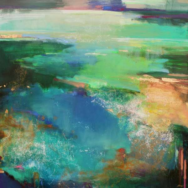 Riverside 2 by Magdalena Morey