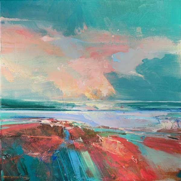 Rose Washed Sands 1 by Magdalena Morey