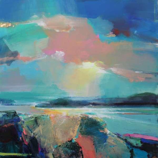 Warm Skies 5 by Magdalena Morey