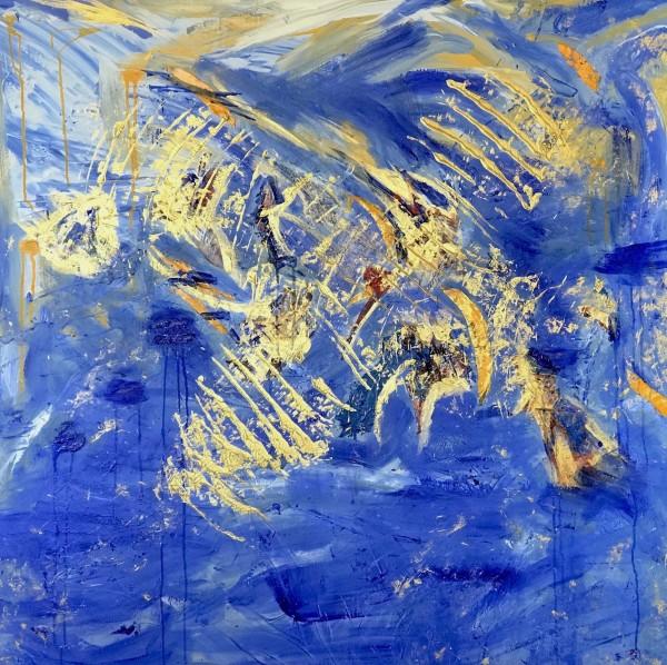 Cosmos Dreams of Kitty Hawk by Sheila Cahill