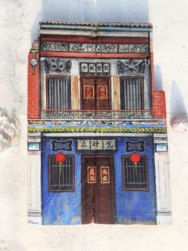 Blue Mansion, Penang by Elena Merlina