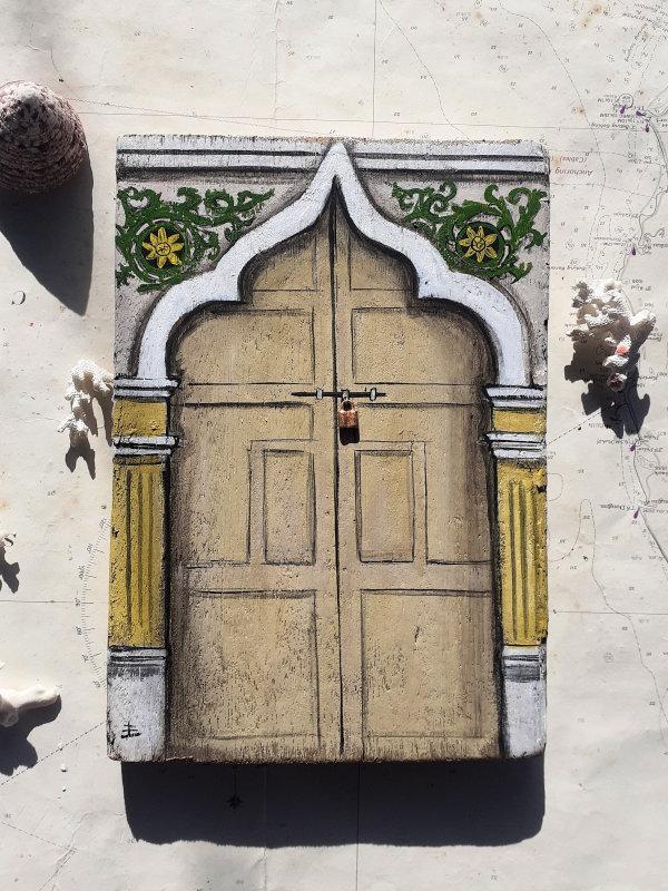 Lebuh Chulia Door, Penang by Elena Merlina