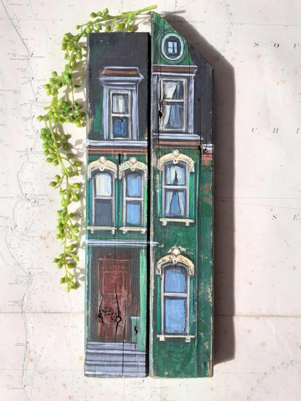 Victorian Green - USA by Elena Merlina