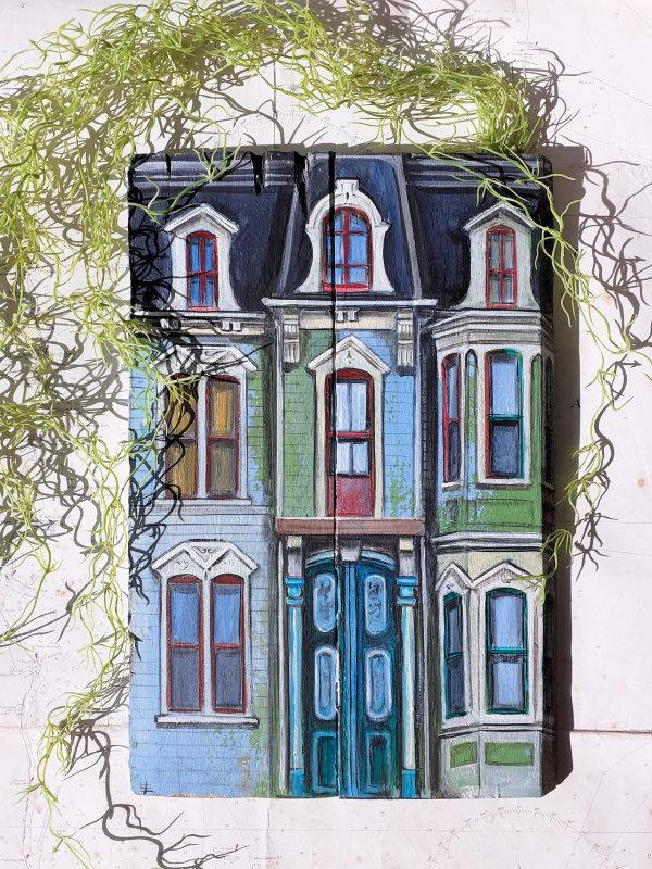 Victorian Jersey Shore, PA, USA by Elena Merlina