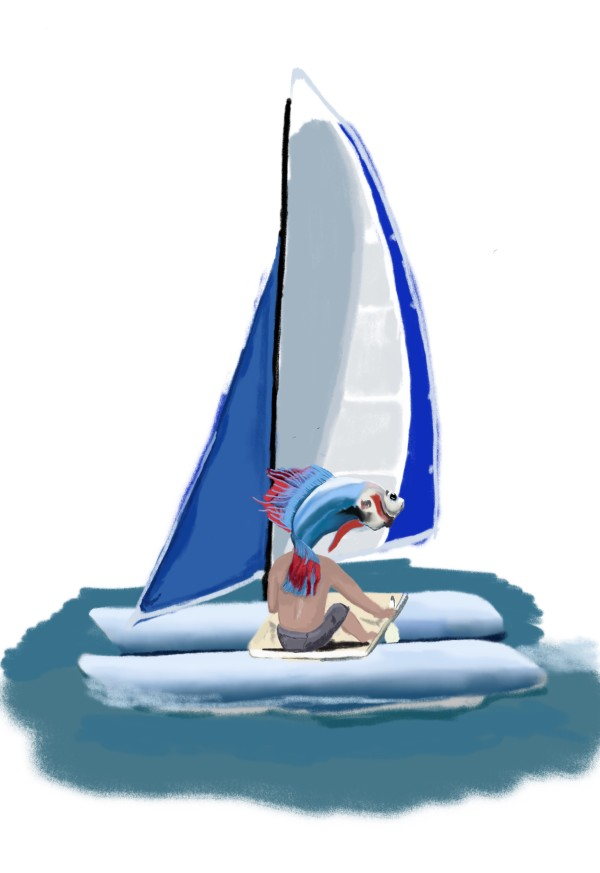 Sailing by matthew stitt