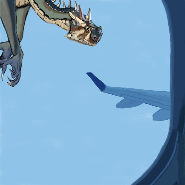 Dragon Fly-by 18x 20 only by matthew stitt