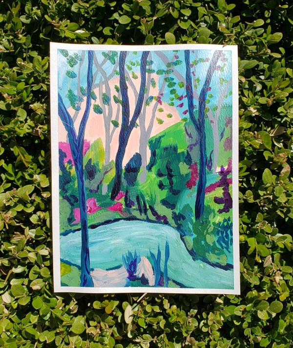Spring Landscape 3 by Claire Sweitzer Hawkins