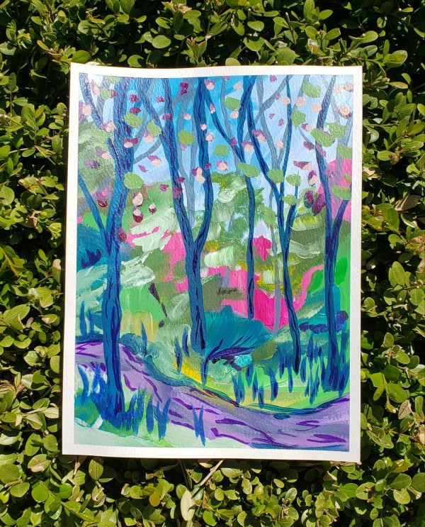 Spring Landscape 4 by Claire Sweitzer Hawkins