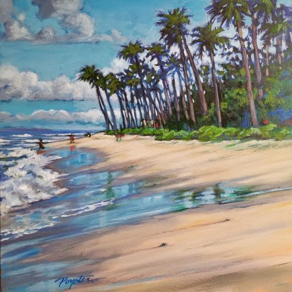 """""""Lahaina - Canoe Beach Shining sand"""" by Jan Poynter"""