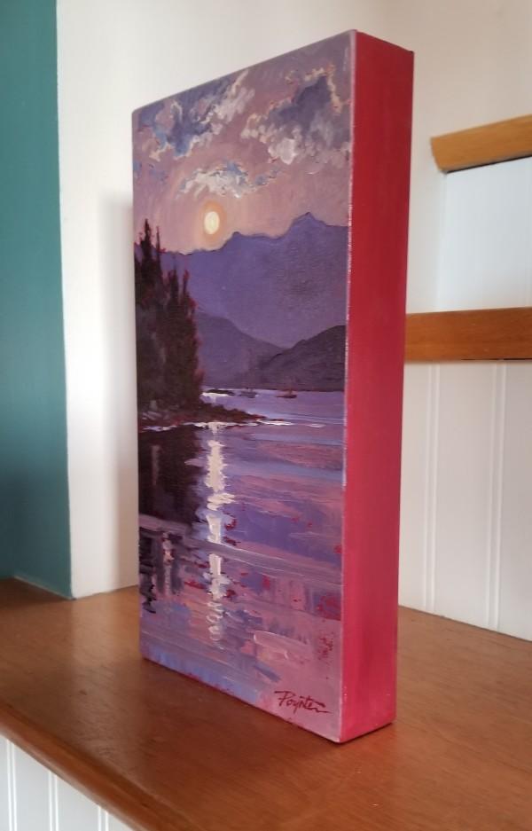 """Smokey Dawn #6-Howe Sound at Granthams"" by Jan Poynter"