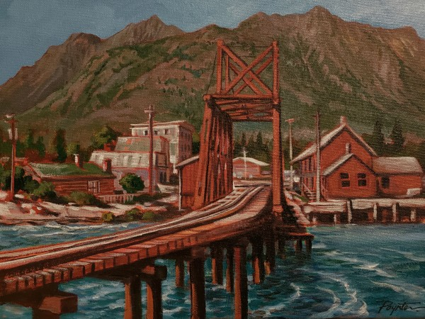 Whitepass-Yukon bridge Carcross Bridge by Jan Poynter