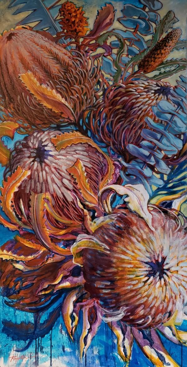 Banksia & Protea - Reach #1 by Jan Poynter