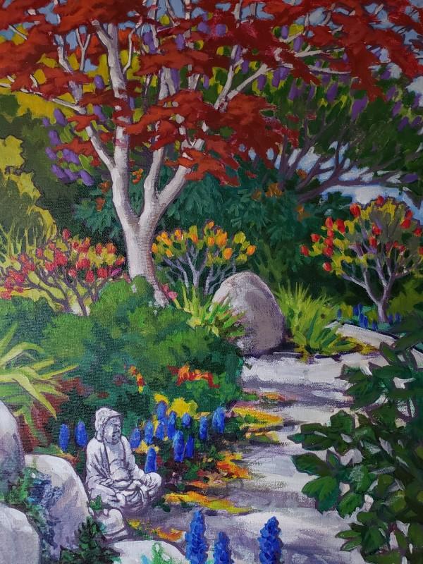 """""""Garden path #1 - Spring 2020"""" by Jan Poynter"""