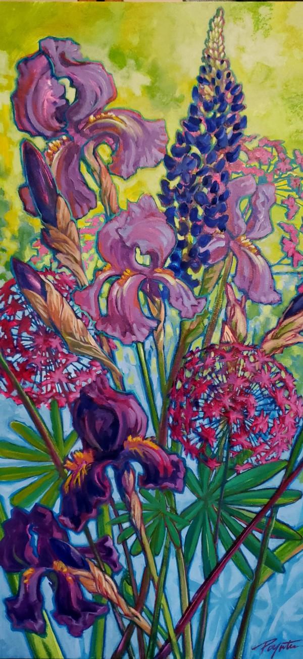 Garden Blues #2 by Jan Poynter
