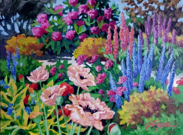 Summer color June by Jan Poynter