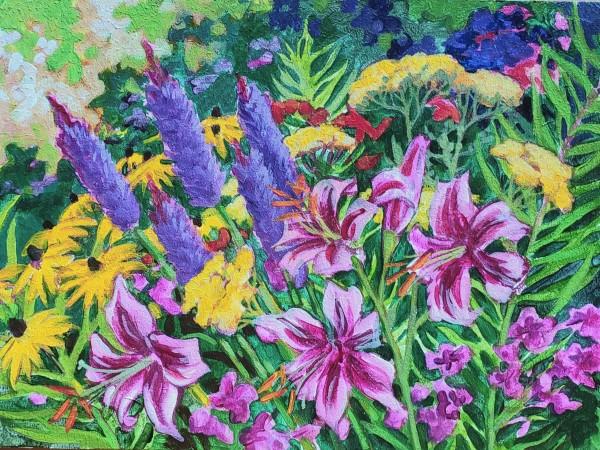 Summer heat - Perennials @ 558 by Jan Poynter