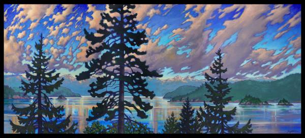 """Howe Sound Sunset #2"" by Jan Poynter"