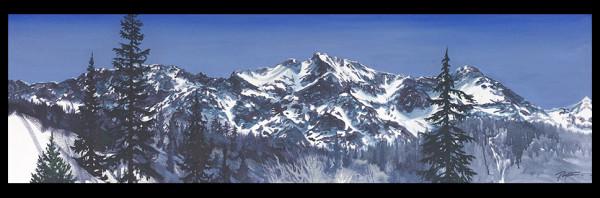 """""""Beyond Pemberton - Mountain study #2"""" by Jan Poynter"""