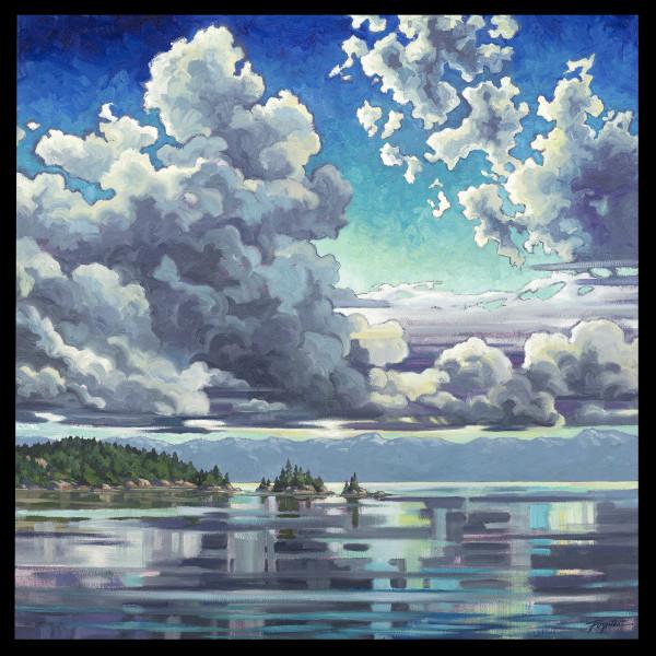 """Cloud Study - Blues #2"" by Jan Poynter"