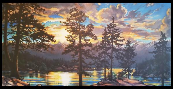 """ Howe Sound - Dawn Reflections"" by Jan Poynter"
