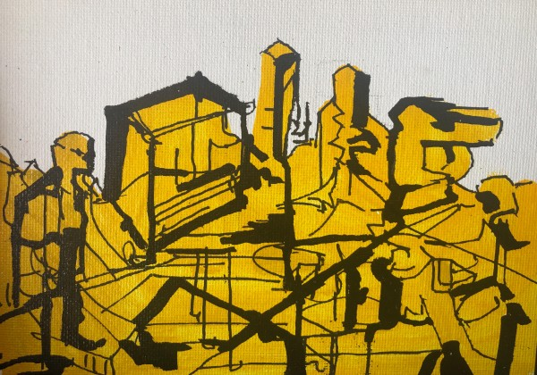 Yellow #1 by Lola Kahan