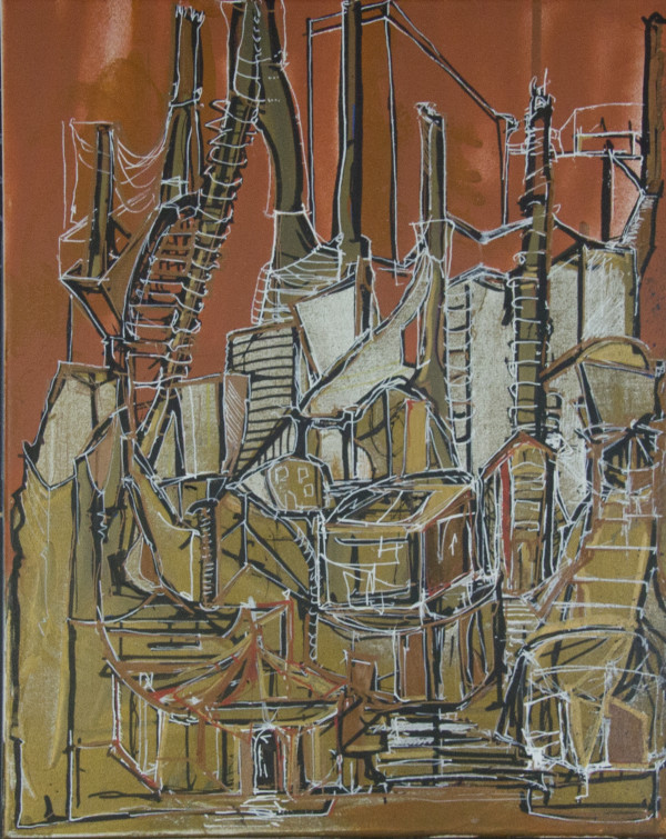 Untitled (City of Dancers) by Lola Kahan