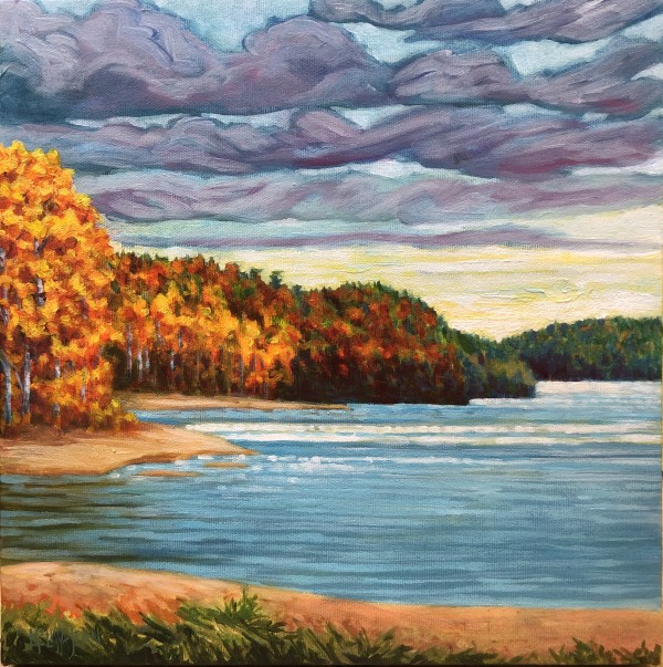 Fall, Whitefish Lake by Melissa Jean