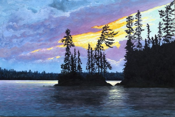 Little Forrest and Forrest Island, Lake of the Woods by Melissa Jean