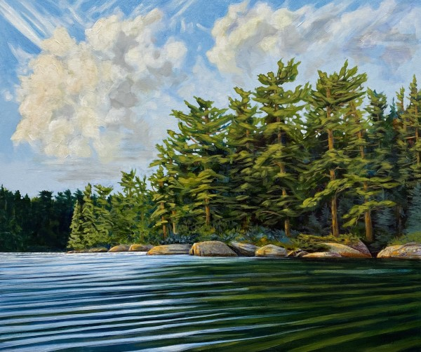 Quiet Inlet by Melissa Jean