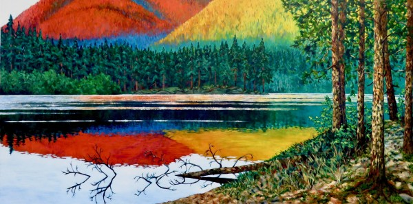 Good Morning, Burnell Lake by Melissa Jean