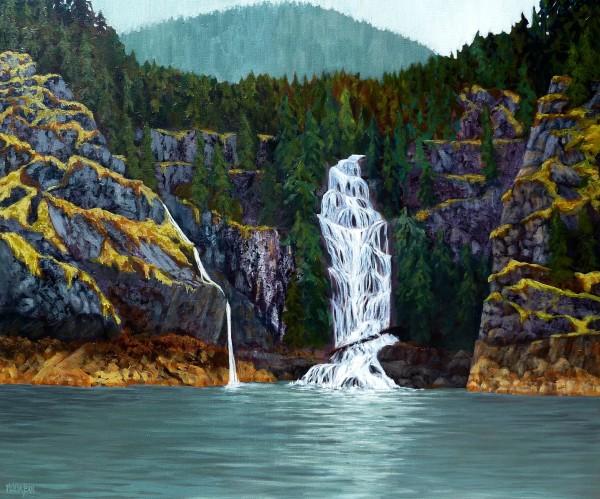 Cassel Falls,  B.C. by Melissa Jean