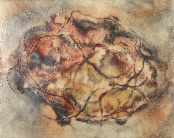 Myers_StringTheory1_8_x10__encaustic-432_tkep5e_1 by Carol L Myers