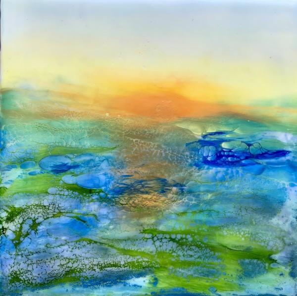 Ocean Sunset by Alane Holsteen