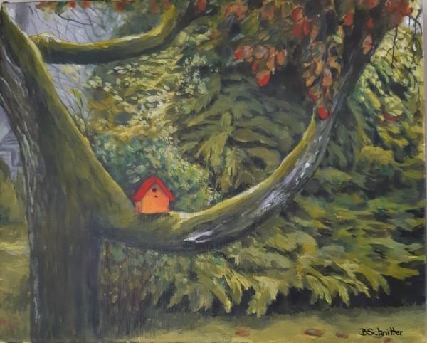 Birdhouse by Bonnie Schnitter