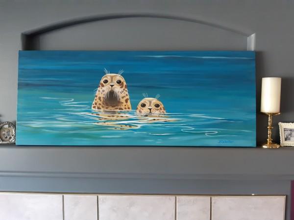 2 seals by Bonnie Schnitter