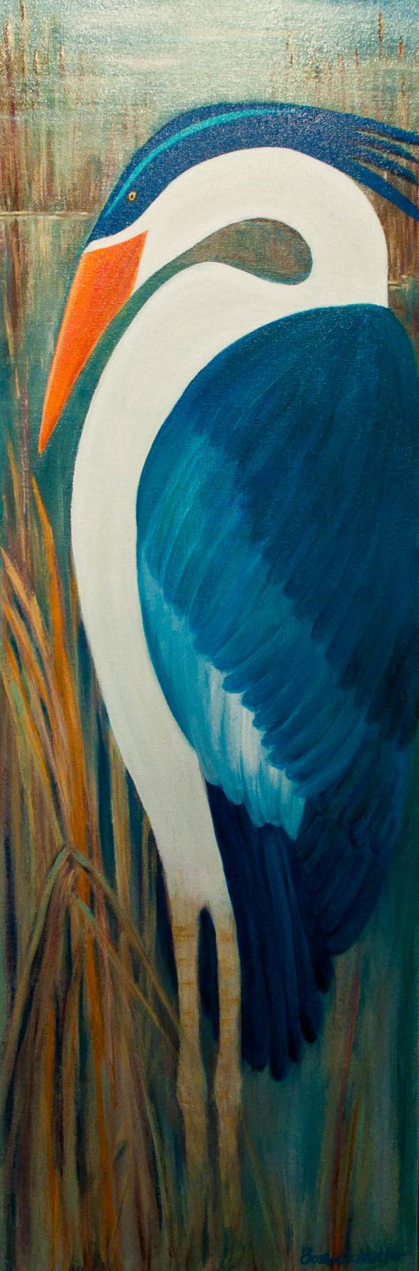 Heron by Bonnie Schnitter