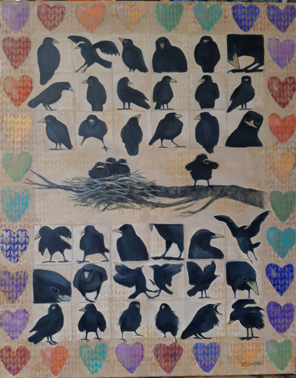Counting Crows by Bonnie Schnitter