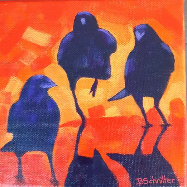 The In Crow'd by Bonnie Schnitter