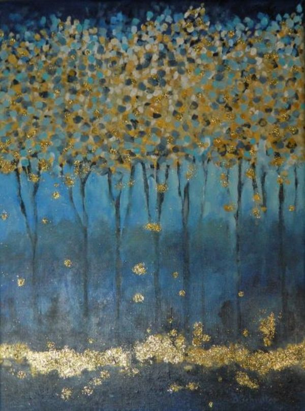 'Golden Leaves' by Bonnie Schnitter