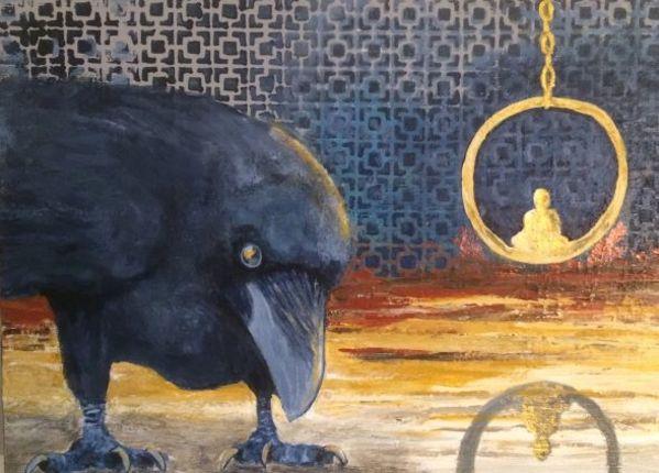 'Budha Reflection' by Bonnie Schnitter